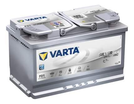 Аккумулятор автомобильный автомобильный Varta Silver Dynamic AGM 80 Ач