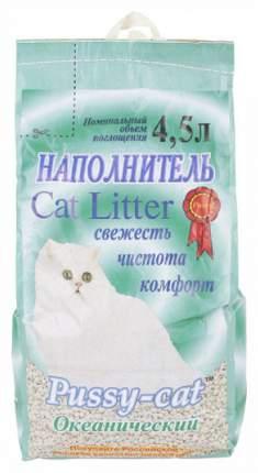 Наполнитель Pussy-Cat впитывающий 4.5 л 3 кг