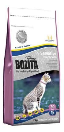 Сухой корм для кошек BOZITA Function Sensitive Hair&Skin, лосось, 2кг