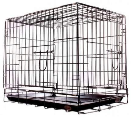 Клетка для собак KREDO 78x69x108, 2 двери