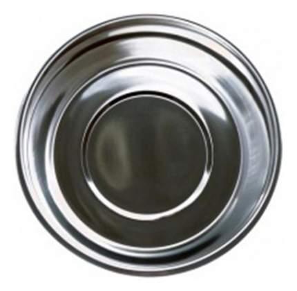 Одинарная миска для собак Papillon, сталь, серебристый, 6 л