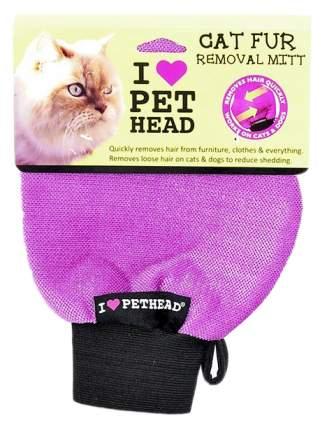 Рукавица для вычесывания Pet Head цвет фиолетовый