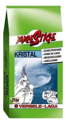Подстилка в клетку для птиц Versele-Laga Песок Prestige Kristal с ракушечником, 25кг
