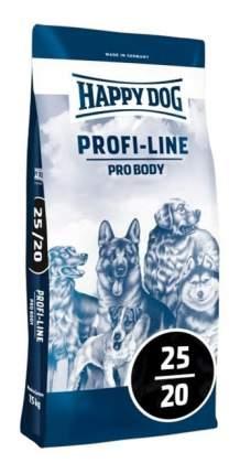 Сухой корм для собак Happy Dog Profi-Line Pro Body, для активных, домашняя птица, 20кг