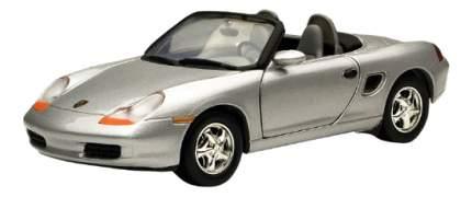 Коллекционная модель MotorMax Porsche Boxster серебристая 1:24