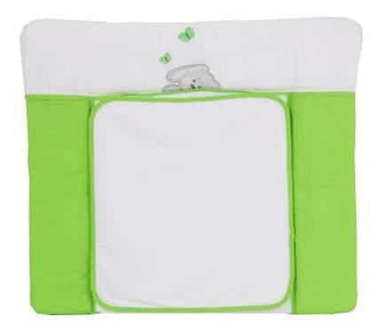 Пеленальная доска Тополь Polini Зайки 85 х 7 5см зеленая