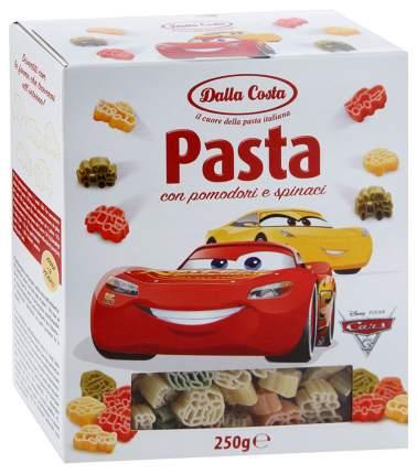 Макароны Dalla Costa Disney Тачки со шпинатом и томатами 250 г