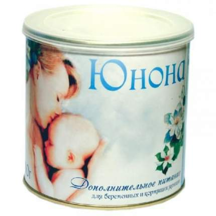 Смесь для беременных и кормящих мам Юнона коррекция рациона питания 400 г