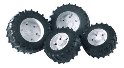 Шины Bruder Для системы сдвоенных колёс с белыми дисками 4 шт.