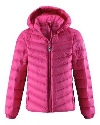 Куртка детская Reima Fern розовая для девочки 158 размер