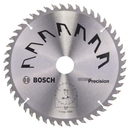 Пильный диск по дереву Bosch 210x30 48 PRECISION 2609256873