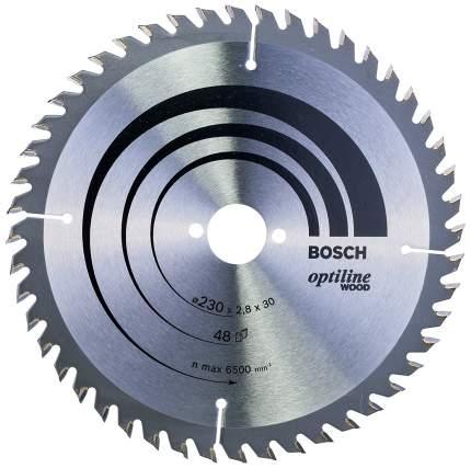 Пильный диск по дереву Bosch STD WO 230x30-48T 2608640629