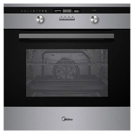 Встраиваемый электрический духовой шкаф Midea MO781E4CX Silver/Black