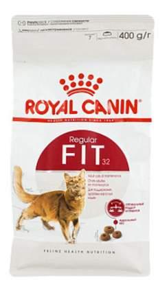Сухой корм для кошек ROYAL CANIN Fit 32, для поддержания формы, птица, 0,4кг