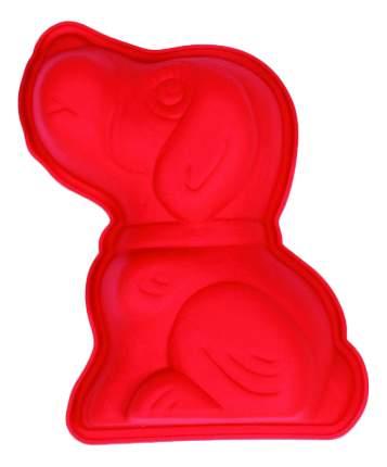 Форма для выпечки SILIKOMART Щенок красная