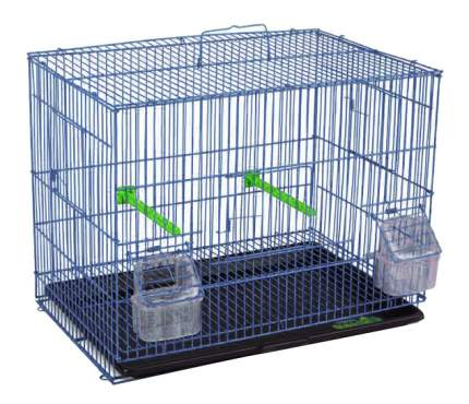 Клетка для птиц Triol 41,5x28x32,5 синий, черный