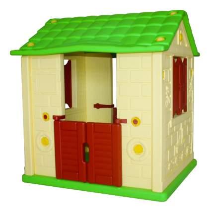 Игровой домик KingKids Королевский желтый