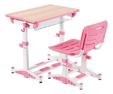 Парта детская Little King LK-09 розовая