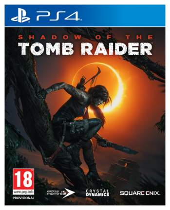 Игра для PlayStation 4 Shadow of the Tomb Raider