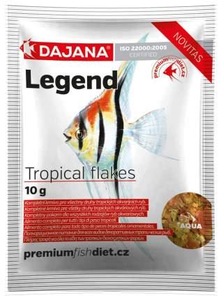 Корм для рыб Dajana LEGEND TROPICAL FLAKES, хлопья, 80 мл