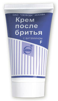 Крем после бритья SVOBODA с витамином F 41 мл