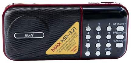 Радиоприемник MAX MR-321 Red/Black