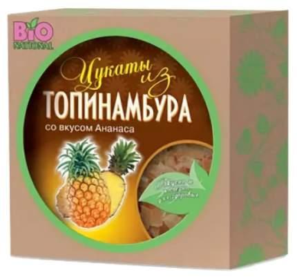 Цукаты Bio Nationa из топинамбура со вкусом ананаса  100 г