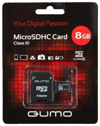 Карта памяти QUMO Micro SDHC QM8GMICSDHC10 8GB