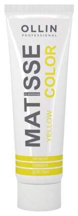 Краска для волос Ollin Professional Matisse Color Желтый 100 мл