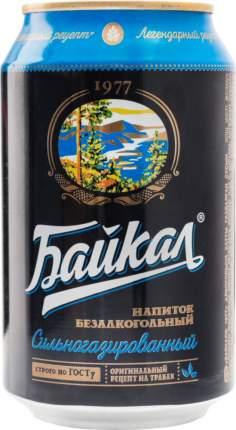 Напиток сильногазированный Байкал 1977 жестяная банка 0.33 л