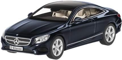 Коллекционная модель автомобиля Mercedes S-Class Coupe, 1:43, Cavansite Blue B66961241