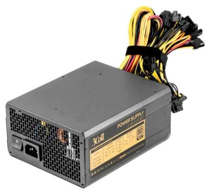 Блок питания компьютера 3Cott 3COTT-M1600A