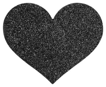 Украшение на Грудь Bijoux Indiscrets Flash Heart, черное
