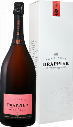 Drappier Brut Rose Champagne AOP in gift box