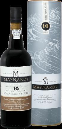 Maynard's Tawny Porto 10 years old Barão De Vilar – Vinhos (gift box)