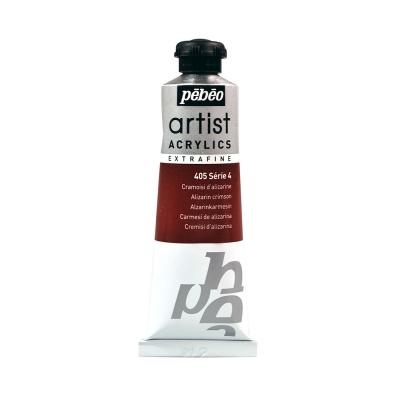 Акриловая краска Pebeo Artist Acrylics extra fine №4 малиновый ализарин 37 мл