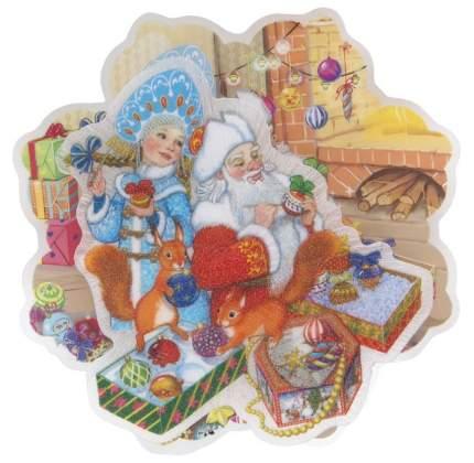 Новогоднее украшение Феникс-Презент Внучка Деда Мороза