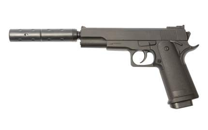 Страйкбольный пружинный пистолет Galaxy (кал. 6 мм) G.053B (Кольт 1911 Classic)