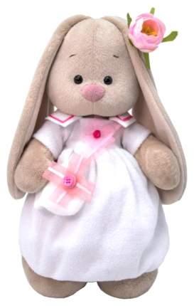 Мягкая игрушка BUDI BASA Зайка Ми в платье с сумочкой, 32 см