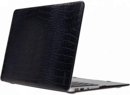 "Чехол для Macbook Pro 15"" Heddy Leather Hardshell croco dark blue"