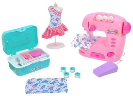 Швейная машина «Карамель» с набором для дизайна одежды и манекеном Sima-Land