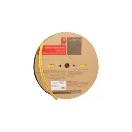 Термоусадка EKF ТУТ  2/1 желтая рулон PROxima 200 м