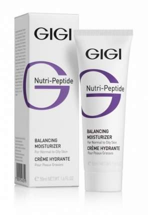 Крем для лица GIGI Nutri-Peptide Увлажняющий балансирующий крем для жирной кожи 50 мл