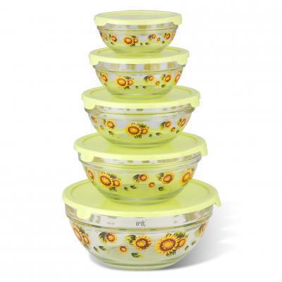 Набор стеклянных салатников IRIT GLSA-5-001