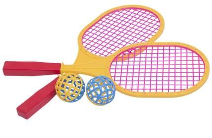 Набор для бадминтона 2 ракетки и 2 мяча детский