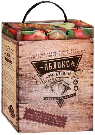 Сок Сазановские Продукты Яблоко и Облепиха 3л