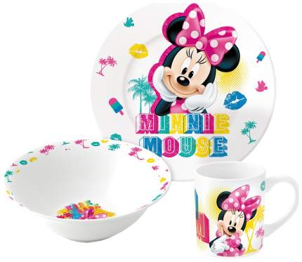"Набор посуды ""Минни Маус"", 3 предмета"