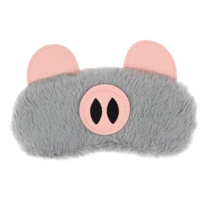 Маска для сна Kawaii Factory Пушистый свин
