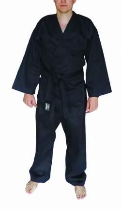 Кимоно Atemi AKRB01 черное, XL, 170 см
