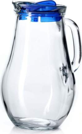 "Кувшин Pasabahce ""Bistro"", с голубой крышкой, 1850 мл"